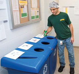 Shearer's diverted more than 24 million pounds of waste from the landfill.