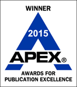 Winner 2015 APEX Awards for Publication Excellence