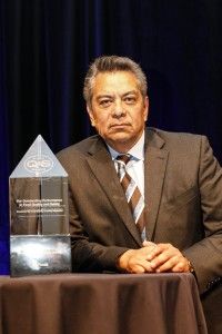 Jorge Hernandez, SVP food safety & quality assurance, US Foods, accepted the Award on behalf of the organization.