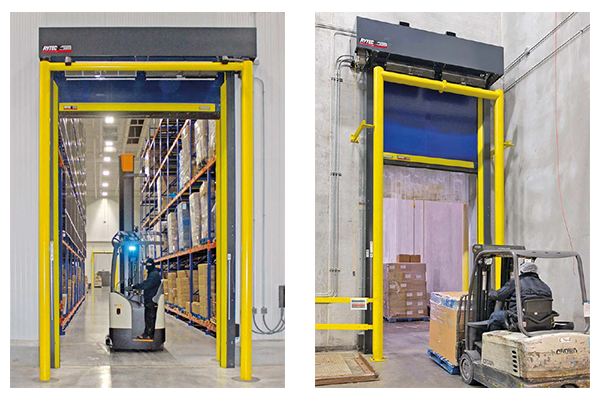 Traffic Doors And Cold Storage Food Quality Safety - Creative door chain that is really safe
