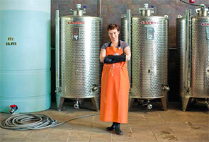 Maggie Campbell, head distiller and vice president, Privateer Rum, Ipswich, Mass.