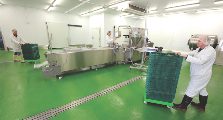 Choosing Hygienic Flooring for Your Food and Beverage Facility