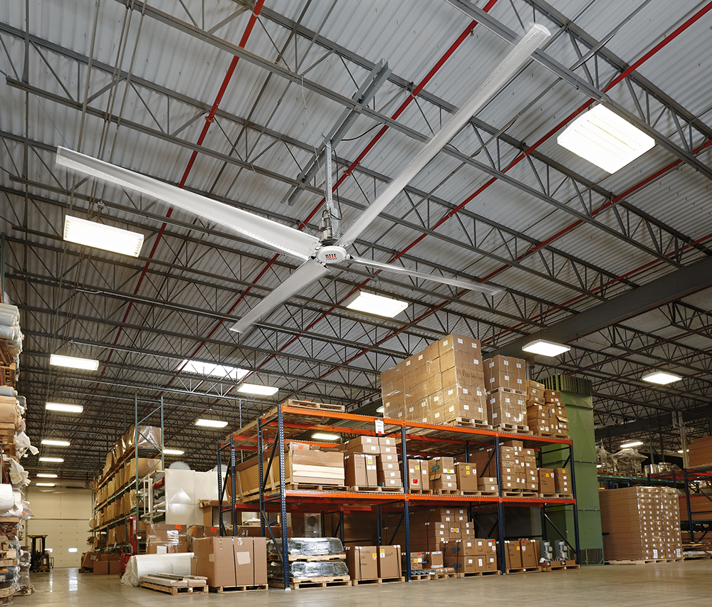 Climate Control With Hvls Fans And Curtain Walls Food
