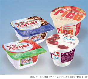 Müller's Market Drayton factory produces more than a third of all yogurt eaten in the U.K.