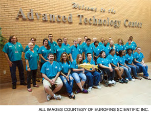 Summer 2010 research participants at the Institute for Food Safety at Florida State College at Jacksonville.