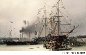 At the time, there were no fruits or vegetables on the ships, and food was smoked, dried, fermented, or salted. He got glowing reports from the French Navy.