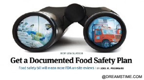 Food safety bill will mean more FDA on-site reviews