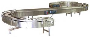 Stainless Steel Mat Top Conveyor
