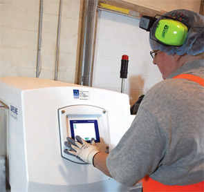 The PowerPhasePRO RB metal detector has helped Thymly Products streamline its processes.