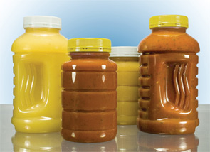 Wide-Mouth Polyethylene Terephthalate Containers