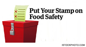 Put Your Stamp on Food Safety