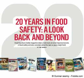 20 Years in Food Safety: A Look Back and Beyond