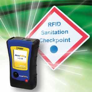 New RFID technology simplifies ATP sanitation monitoring