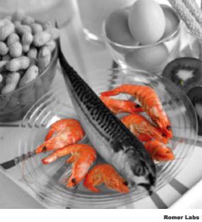Crustacean Residues in Foodstuffs